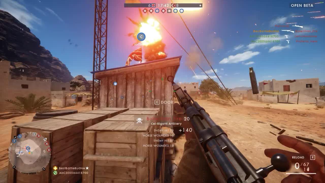 Battlefield, onetruegod, Battlefield 1 Ghost Rider class GIFs