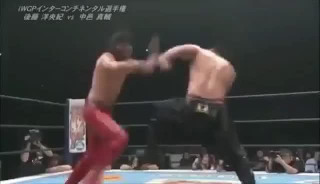 Top 20 Moves Of Shinsuke Nakamura NJPW GIFs