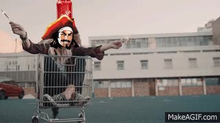 Watch and share When Captain Met Cola | Captain Morgan Rum GIFs on Gfycat
