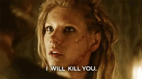Watch and share Vikings Lagertha GIFs on Gfycat
