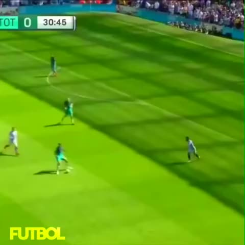 Dele Alli amazing skill vs city OMG