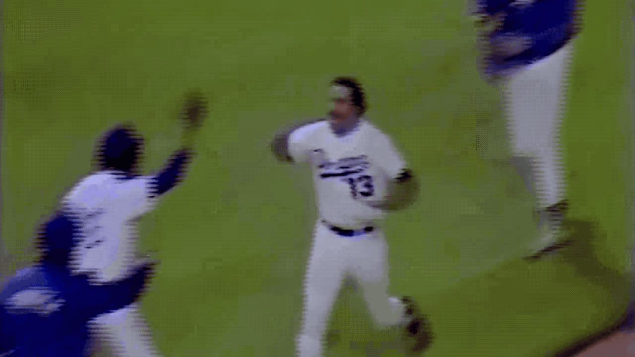 baseball, dodgers, high five, national high five day, Archival Dodgers High Five GIFs