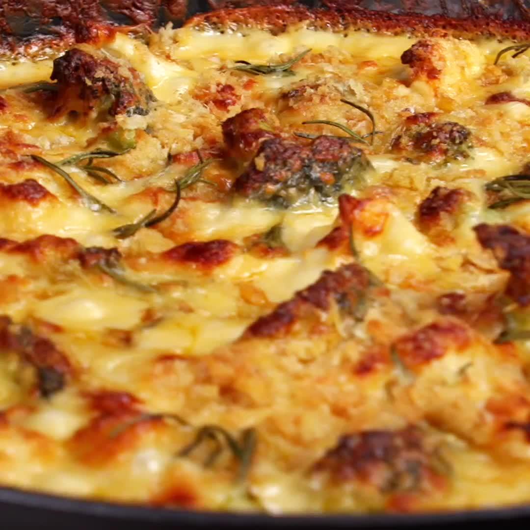 cooking, food, food recipes, recipe, recipes, Cauli Cheese Insta GIFs
