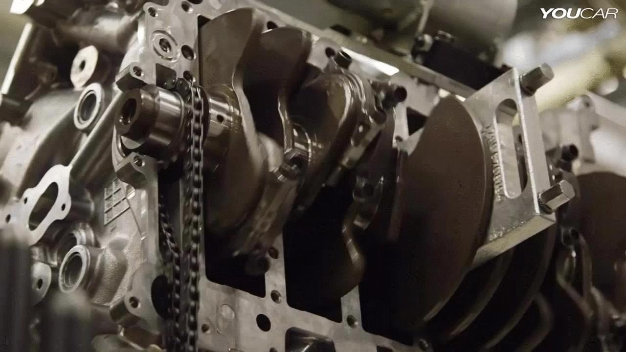 Justrolledintotheshop, gifs, mechanical_gifs, Ford Flathead V8 (reddit) GIFs