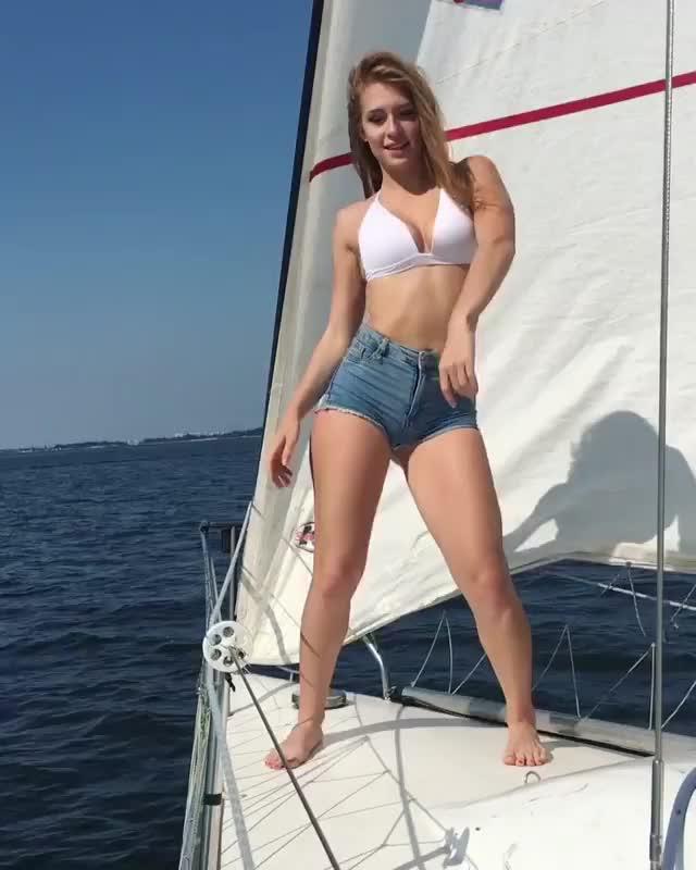 Watch and share Dubkova GIFs and Bikini GIFs on Gfycat