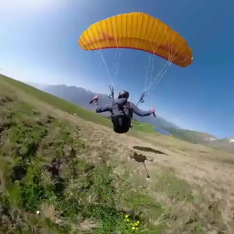 Watch and share Paragliding GIFs and Gleitschirm GIFs on Gfycat