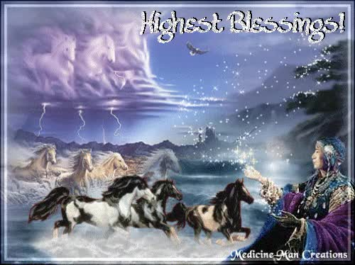 Watch and share Native American Prayers | Native American Blessings Glitter Graphics GIFs on Gfycat