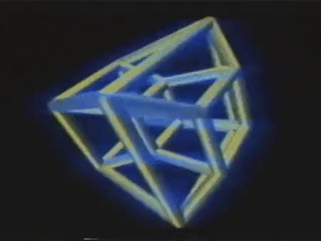 Watch tesseract GIF on Gfycat. Discover more VHSPositive, gif, tesseract, vhs, vhs positive GIFs on Gfycat