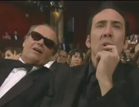 Watch and share Nicholson GIFs and Stare GIFs on Gfycat