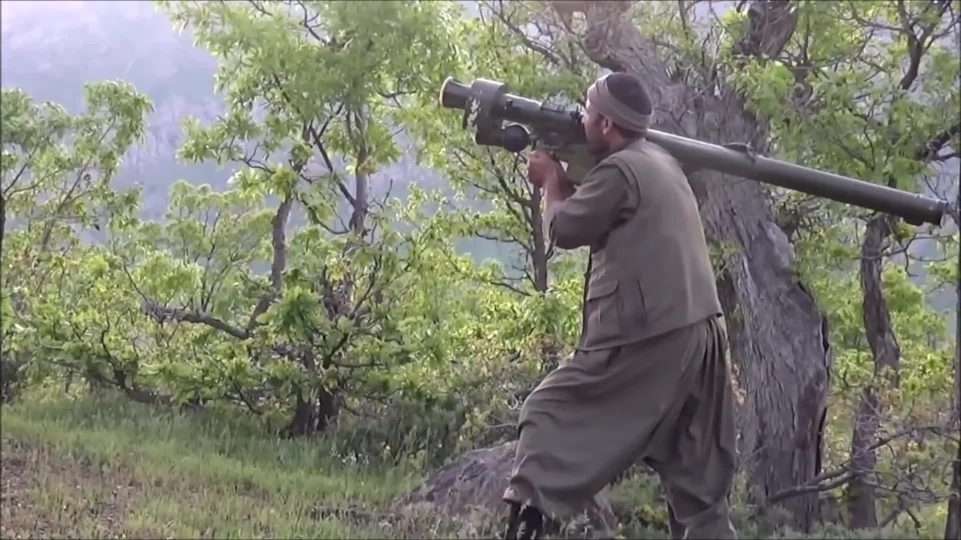 COMPLETEANARCHY, CombatFootage, Turkish Cobra (Attack Helicopter) Shot Down By The Kurdish PKK. (reddit) GIFs