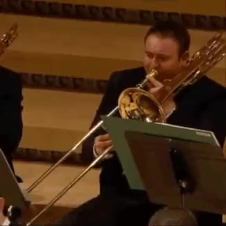 Watch and share Classical Music GIFs and Trombone GIFs on Gfycat