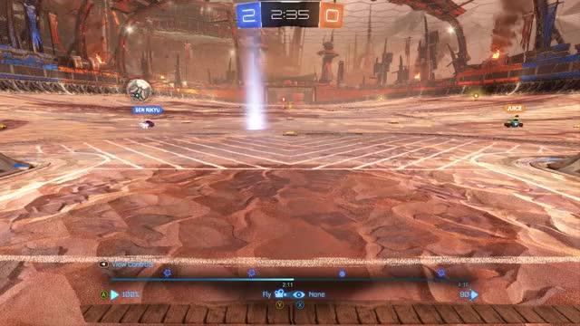 Rocket League - Replay bug