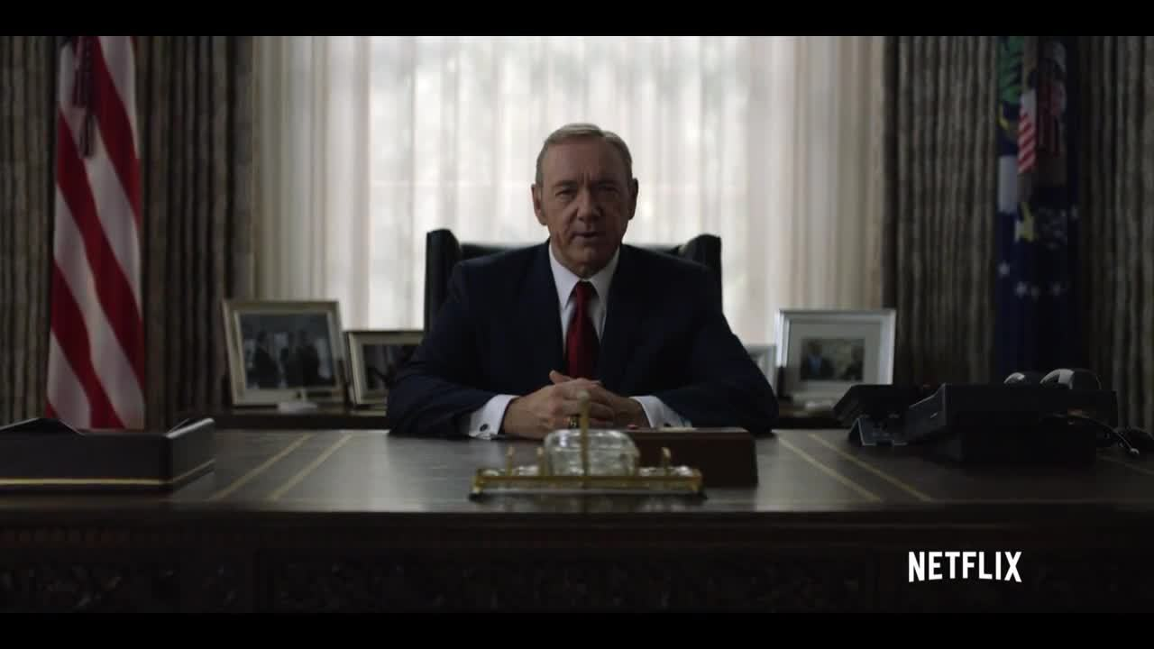 House of Cards, Season 4, houseofcards, House of Cards - Frank Underwood - The Leader We Deserve - Netflix [HD] GIFs
