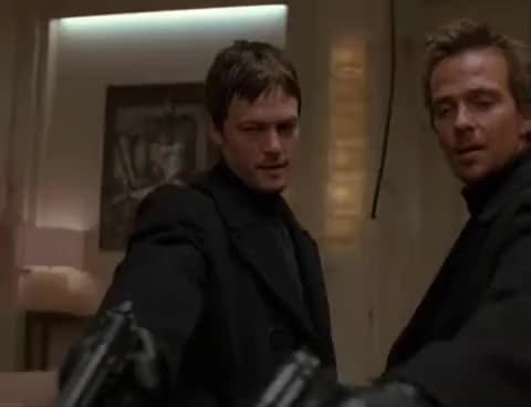 Watch and share Norman Reedus GIFs and Boondock GIFs on Gfycat