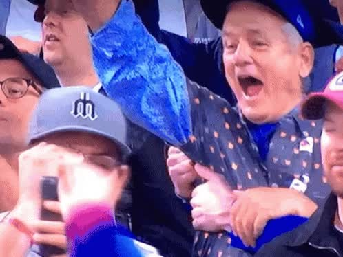 Watch Bill Murray Chicago Cubs GIF on Gfycat. Discover more related GIFs on Gfycat