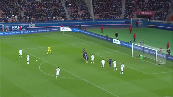 Watch and share Herve Bazile's 90th Min Free-kick To Tie The Game Against PSG GIFs by anasie10 on Gfycat