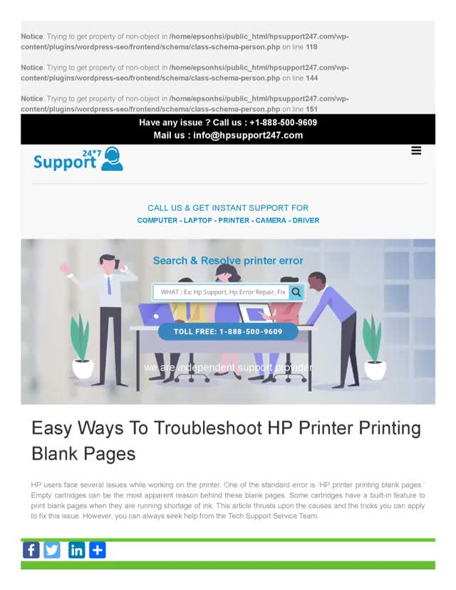 Watch and share Easy Ways To Troubleshoot HP Printer Printing Blank Pages GIFs by hpsupport247 on Gfycat