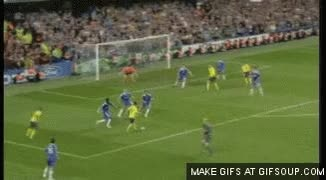 Watch and share Gol De Iniesta Al Chelsea GIFs on Gfycat