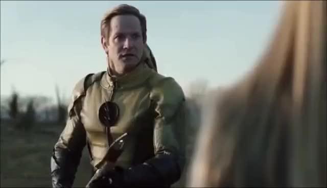 Watch and share Black Flash Kills Reverse Flash | DC Legends Of Tomorrow 2x17 GIFs on Gfycat