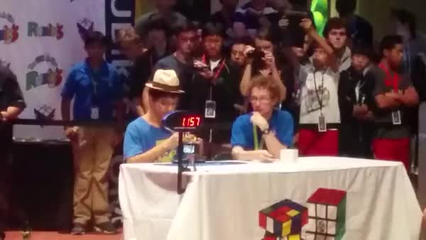 Watch Our own /u/crazyninja3000 with a 8.20 single at nationals for 3x3 finals. Make this guy a mod (reddit) GIF on Gfycat. Discover more cubers GIFs on Gfycat