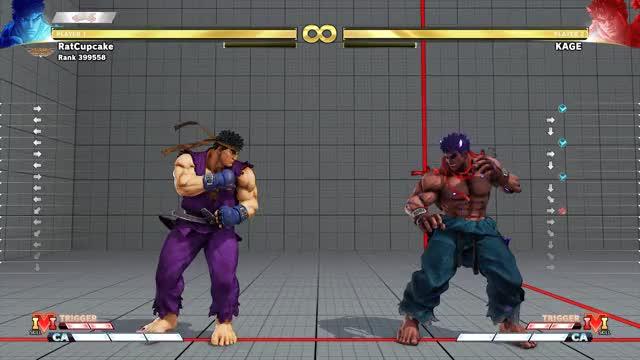 Watch and share SFV Ryu Block And Punish GIFs by pcgemma on Gfycat