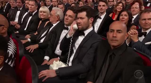 Watch this emmys GIF by GIF Reactions (@visualecho) on Gfycat. Discover more Emmys, Emmys2017, Phone GIFs on Gfycat