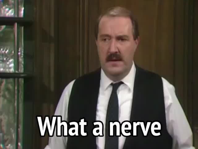 Watch and share Gorden Kaye GIFs and Allo Allo GIFs by MikeyMo on Gfycat