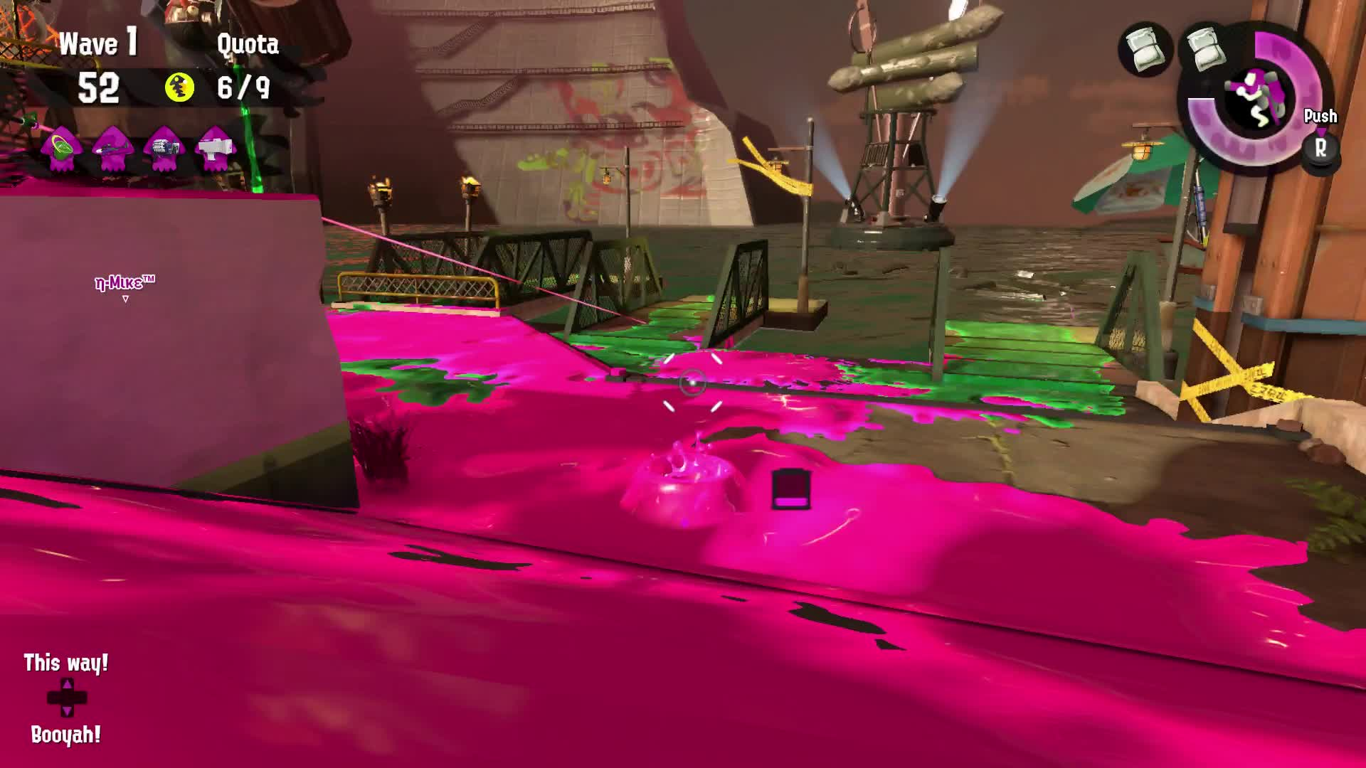 Splatoon 2, We've got your number, Flyfish GIFs