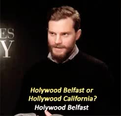Watch and share Its So Funny GIFs and Jamie Dornan GIFs on Gfycat