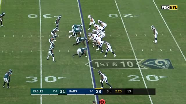 Watch Todd Gurley's 2 TDs & 135 Total Yards vs. Philly! | Eagles vs. Rams | Wk 14 Player Highlights GIF on Gfycat. Discover more American Football, Football, NFL, afc, defense, game, highlight, highlights, nfc, offense GIFs on Gfycat