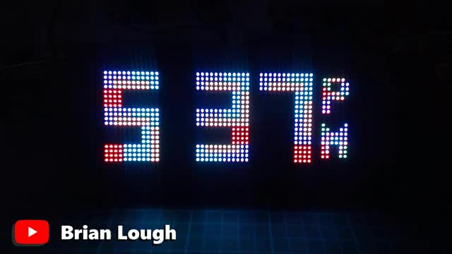 Watch and share Arduino Tetris Clock By Brian Lough GIFs by witnessmenow on Gfycat