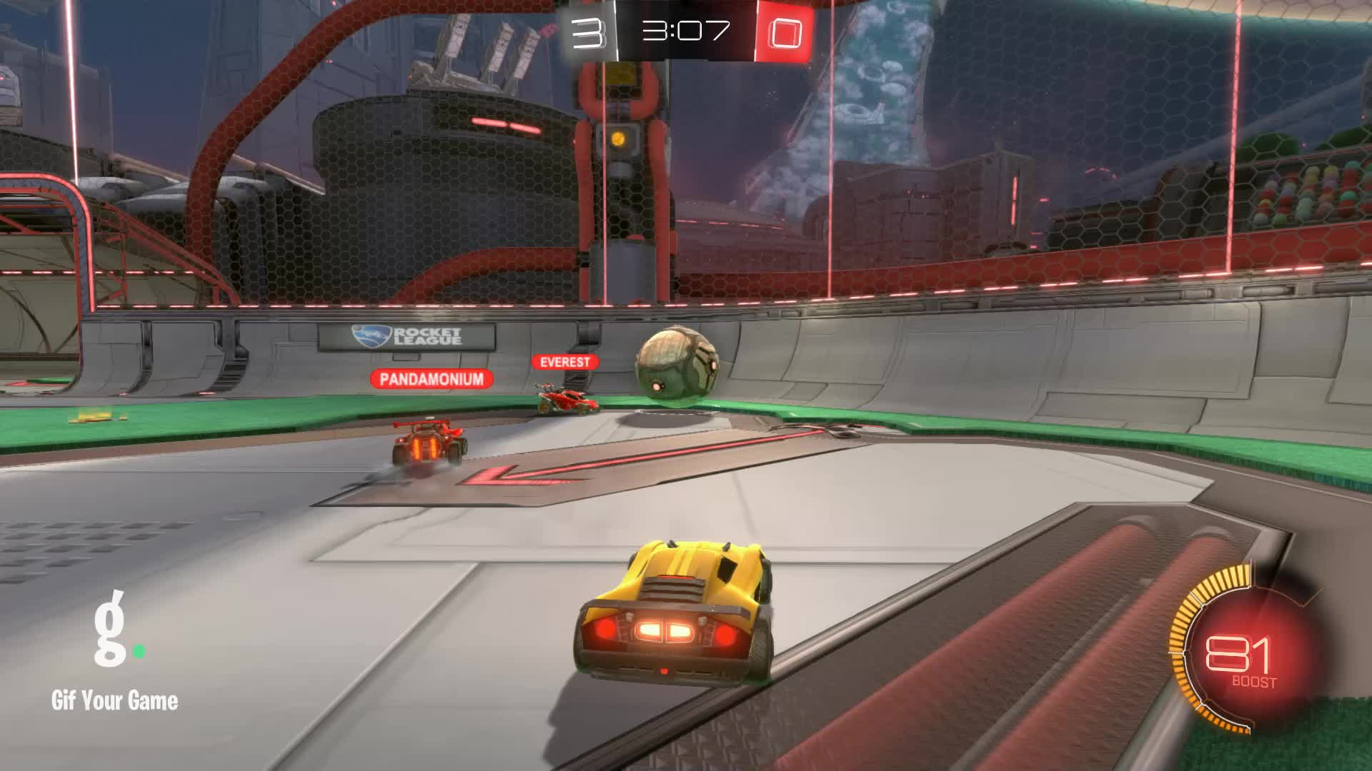Assist, Gif Your Game, GifYourGame, Rocket League, RocketLeague, datboi, Assist 2: datboi GIFs