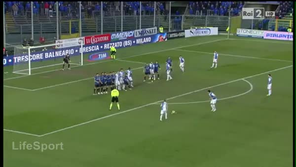 Watch and share Lazarevic (Chievo Verona) Goal Vs. Atalanta - 11 Jan 2015 GIFs on Gfycat