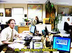 Watch Be with me, monkey. GIF on Gfycat. Discover more 3x20, dwight schrute, gif, jim halpert, request, s3, the office, theofficeedit GIFs on Gfycat
