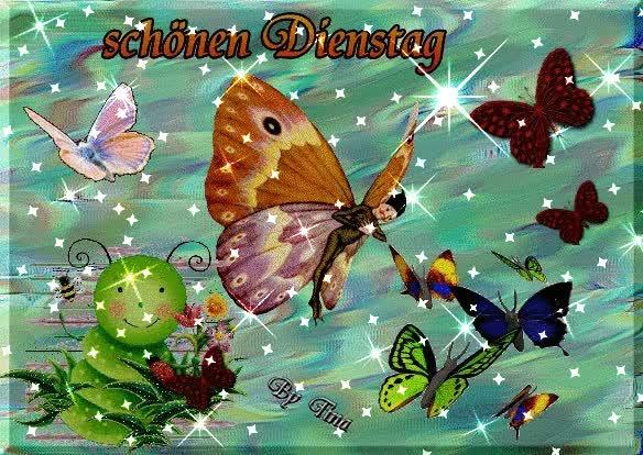 Watch and share Dienstag Gästebuch Bilder - Dienstag-schmetterling.gif - GB Pics GIFs on Gfycat