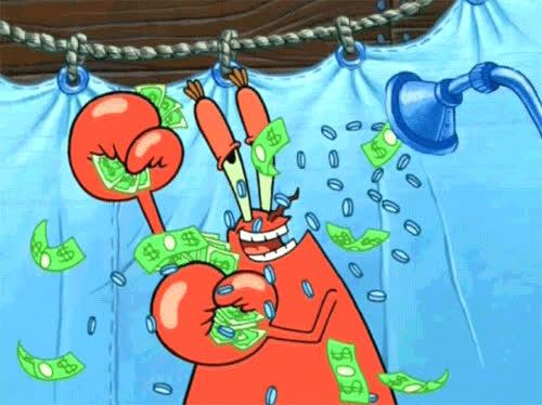 Make it Rain Spongebob.gif GIFs