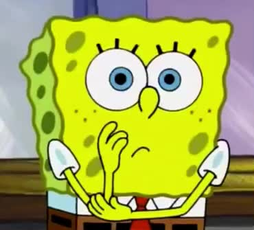 Disappointed, GIF Brewery, Spondebob, afraid, confused, cute, hmm, horrified, idea, no, sad, sick, think, thinking, wait, waiting, well, worried, worry, wtf, Disappointed Spongebob GIFs