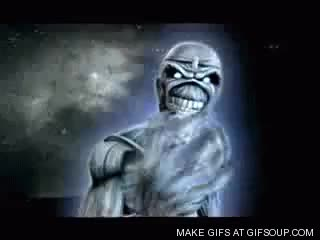Watch and share Iron Maiden Gif GIFs by galo on Gfycat