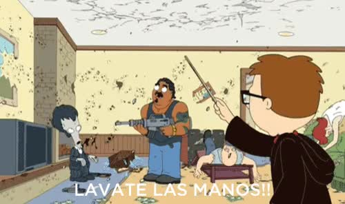 "Watch I like to yell ""LAVATE LAS MANOS"" : AdviceAnimals GIF on Gfycat. Discover more related GIFs on Gfycat"