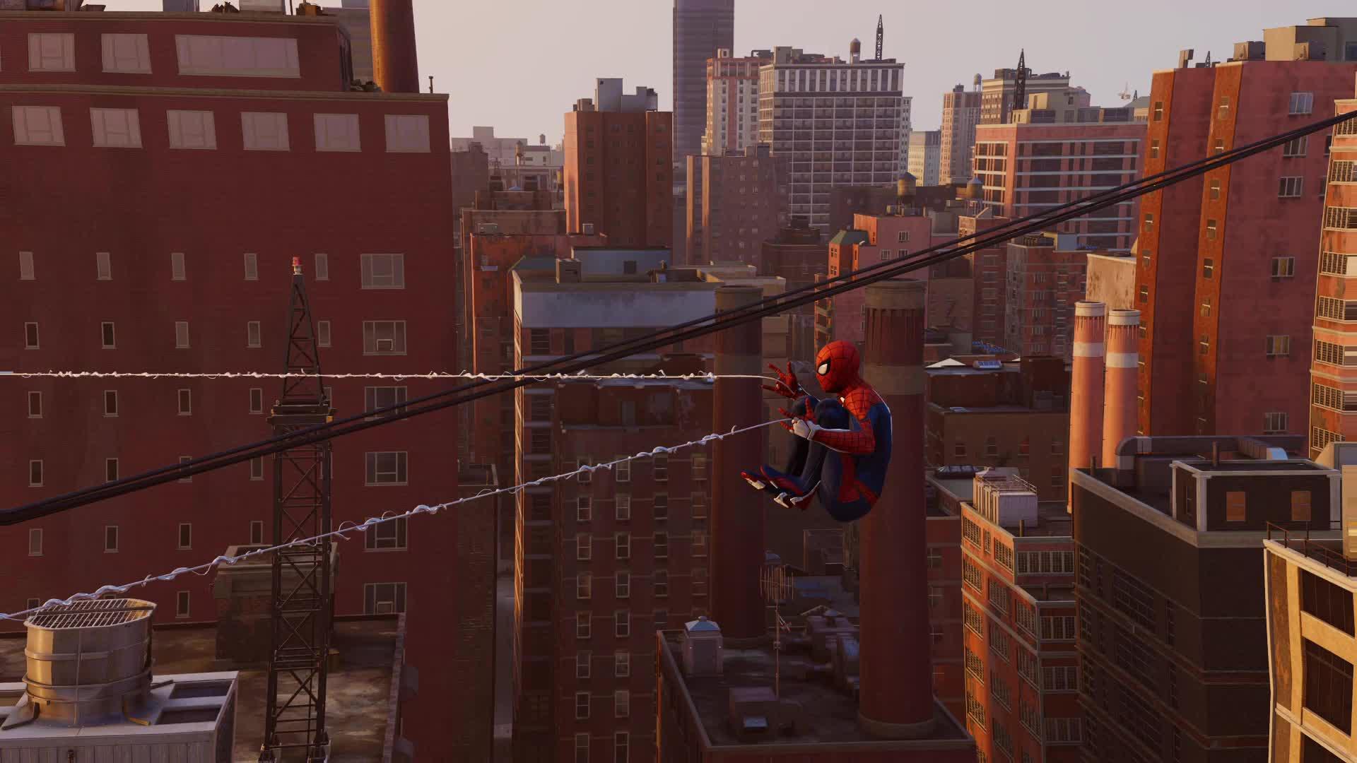 marvel, playstation, playstation 4, ps4, ps4share, spider-man, spiderman, Spider-Man web detail GIFs