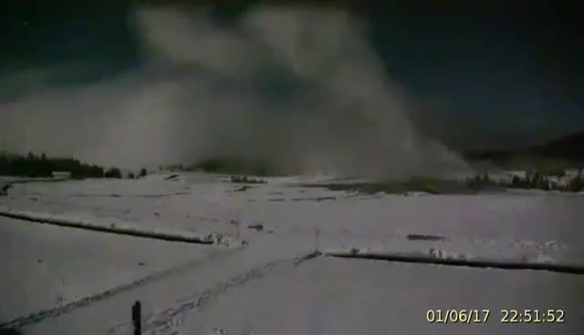 Watch and share Atmospheric Waves At Old Faithful Geyser 2016.01.06 GIFs on Gfycat