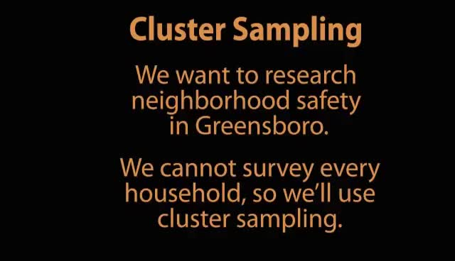 Watch Cluster Sampling GIF on Gfycat. Discover more related GIFs on Gfycat