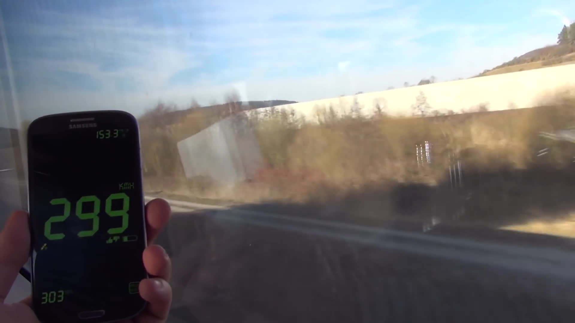 gifs, trains, German ICE Train 300 Kmh / 186 mph beside the Autobahn GIFs