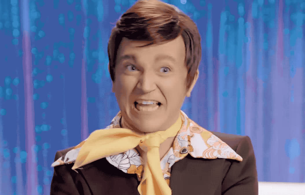 awesome, awkward, back, bendelacreme, cold, dead, drag, excited, from, good, great, happy, lynde, paul, race, rupaul, smile, Paul Lynde aka Bendelacreme GIFs