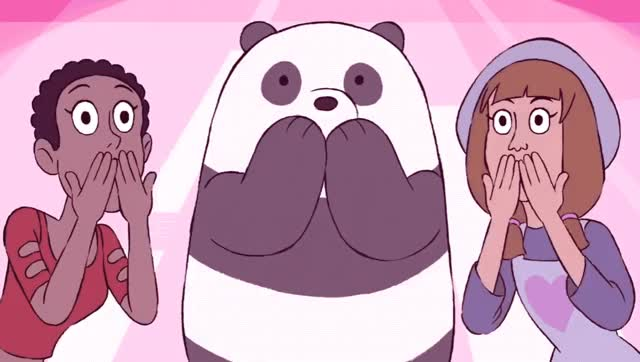 Watch this panda GIF by GIF Queen (@ioanna) on Gfycat. Discover more bare, bears, cartoon, girl, hearts, i, i love you, in love, kiss, kisses, love, network, panda, panda bear, pink, positive, send, vibes, we, you GIFs on Gfycat