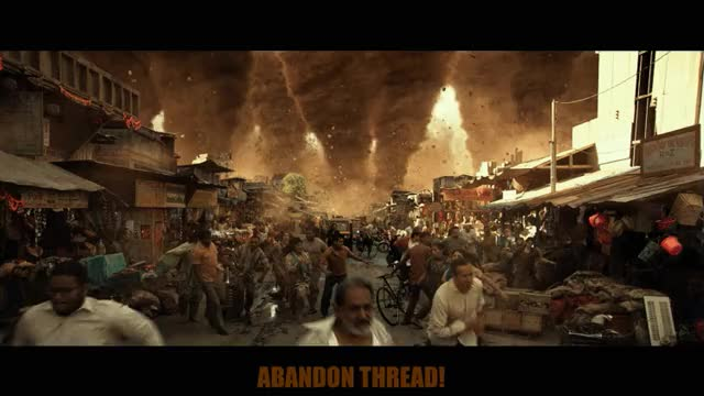 Watch this abandon thread GIF by The Gifs Shop (@thegifshop) on Gfycat. Discover more abandon thread, do not want, geostorm, goodbye, gtfo, i give up, nervous, panic, reaction, running, scared, scary, spinning, tornado, tornadoes GIFs on Gfycat