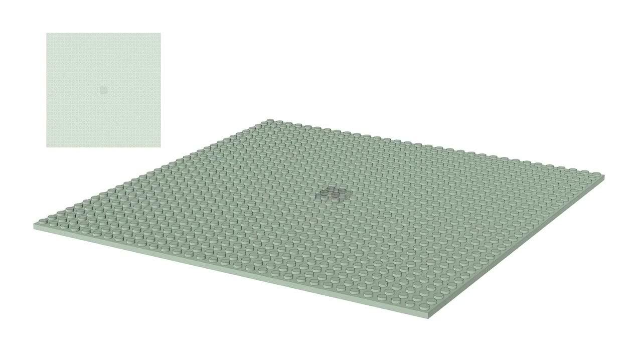 Making a DNA model using LEGOs GIFs