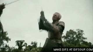 Watch and share A Storm Of Swords HBO - Jaime And Brienne Duel GIFs on Gfycat