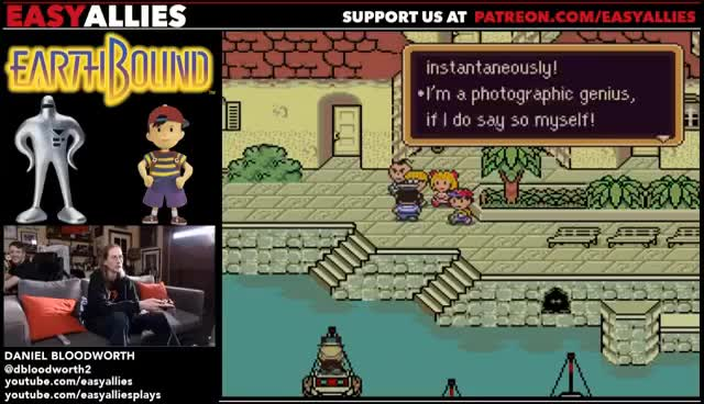 Blood Plays EarthBound (Pt  12) and Switch Q&A GIF | Find