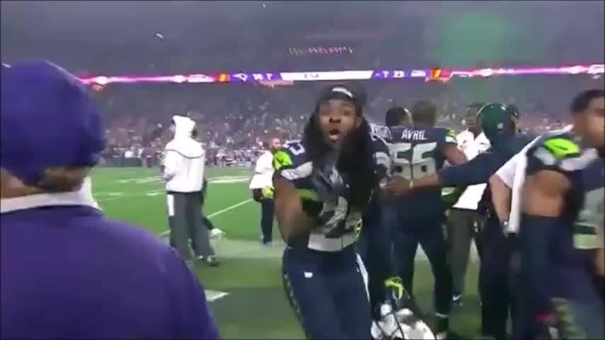 EvilLeagueOfEvil, funny, nba, Brady counts them off for Sherman (OC) (reddit) GIFs